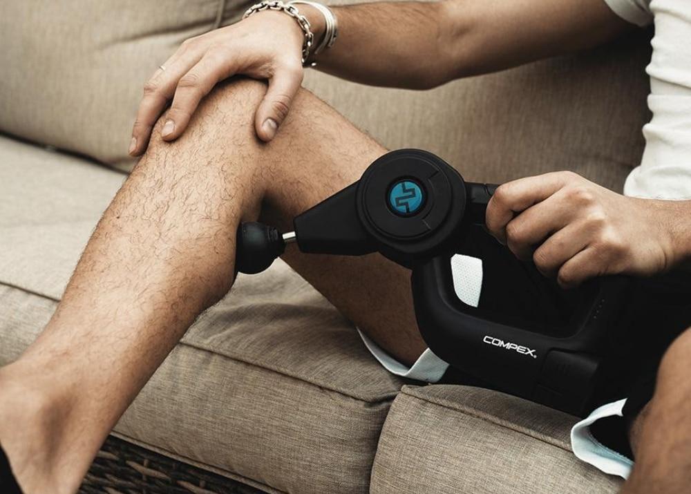 Thérapie par percussion : le pistolet de massage