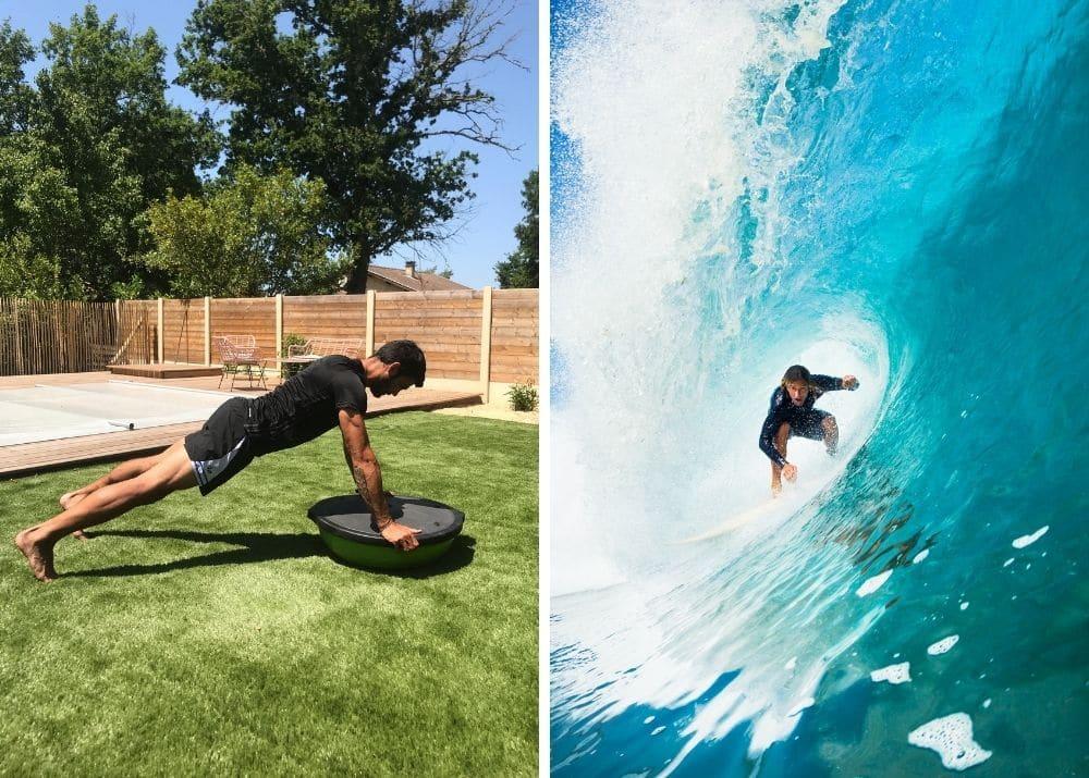 Préparation physique en Surf: conseilS pour tenir le rythme !