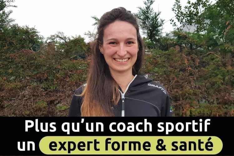 Coach Sportif à Angers, Émeline Aubry est coach sportif chez Domicil'Gym