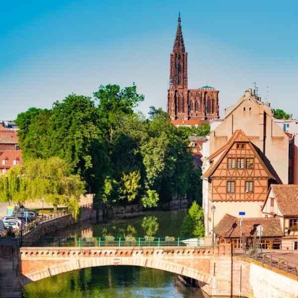 ville de strasbourg où les coachs peuvent réaliser des sessions de coaching